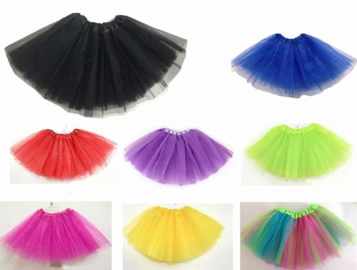 Adult/kid Fancy Dancewear Tutu Pettiskirt Princess Party Skirts Mini Dress